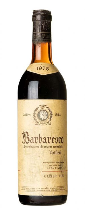 1976 Barbaresco Valfieri