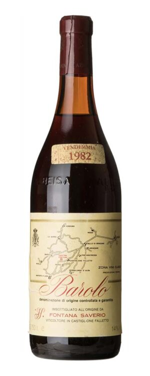 1982 Barolo Fontana Saverio