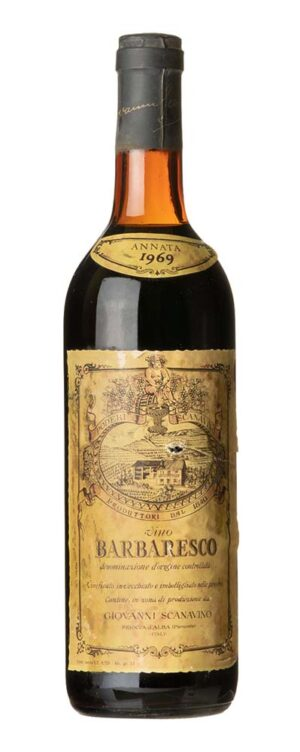1969 Barbaresco Giovanni Scanavino