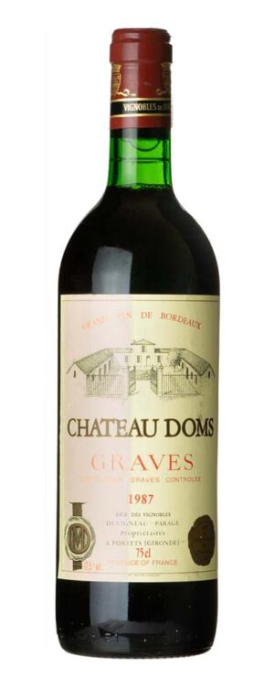 1987 Graves Chateau Doms
