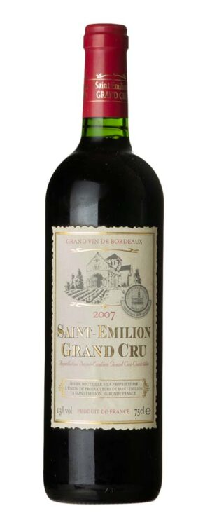 2007 Grand Cru, Saint-Emilion Union de Producteurs de Saint-Émilion