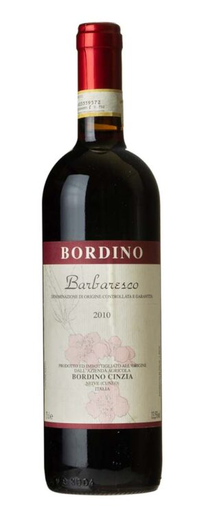 2010 Barbaresco Bordino Cinzia