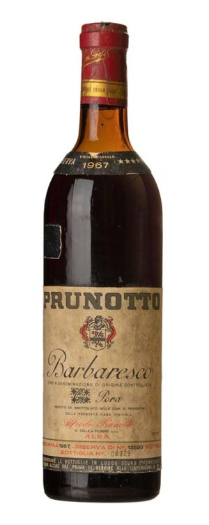 1967 Barbaresco Prunotto