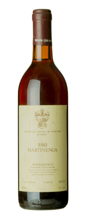 1980 Barbaresco Martinenga