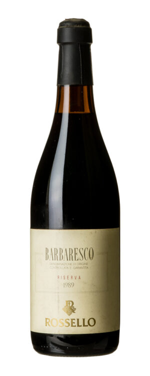 1989 Barbaresco Rossello