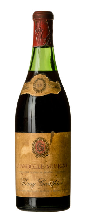 1971 Chambolle-Musigny Rémy Lauthier