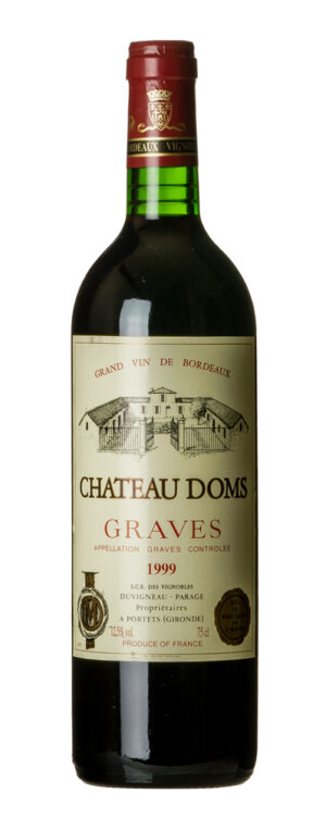 1999 Graves Chateau Doms
