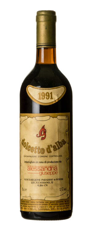 1991 Dolcetto d´Alba Alessandria Guiseppe